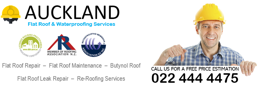 Flat Roof Restoration In Auckland Butynol Tpo Torch On